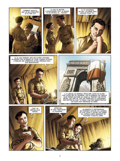 Page 4 Lady Spitfire tome 4 - Desert Air Force