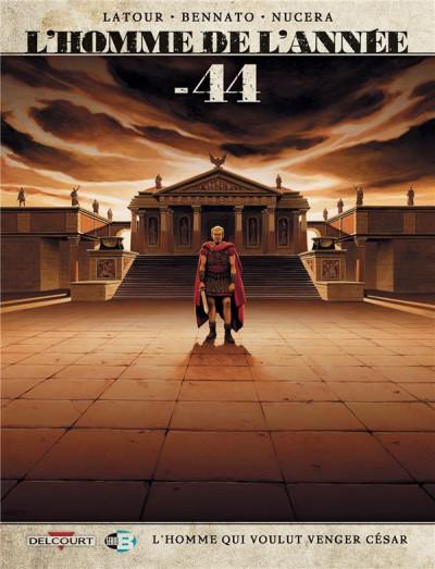 Couverture L'Homme de l'année tome 8 - -44