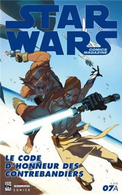 Couverture Star Wars comics magazine tome 7 - Cover A