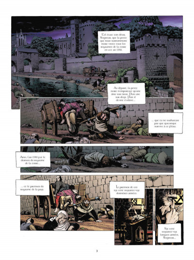 Page 1 Nous, les morts tome 1