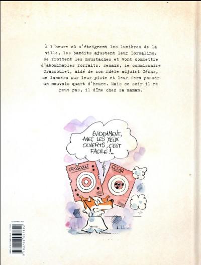 Dos Les enquêtes du commissaire Crassoulet