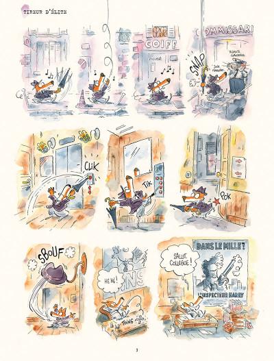 Page 1 Les enquêtes du commissaire Crassoulet