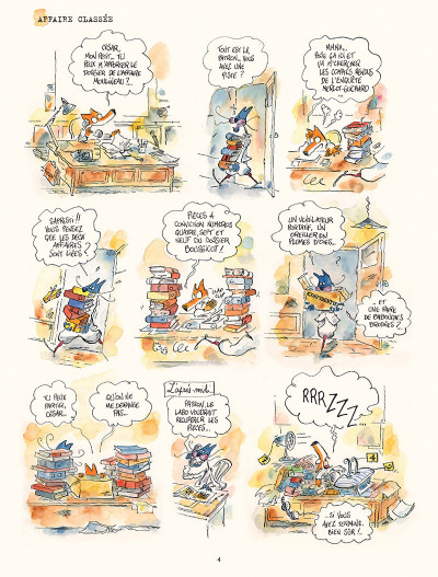 Page 2 Les enquêtes du commissaire Crassoulet