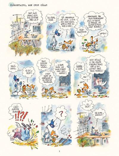 Page 3 Les enquêtes du commissaire Crassoulet