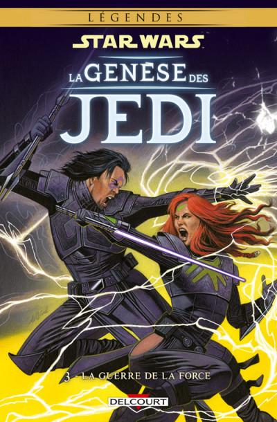 Couverture Star wars - la genèse des Jedi tome 3