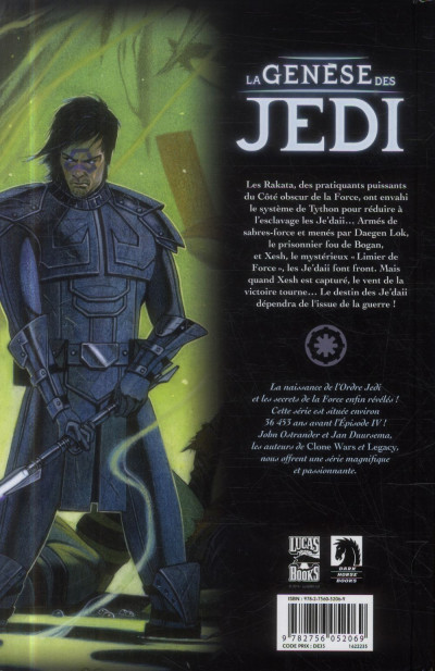 Dos Star wars - la genèse des Jedi tome 3
