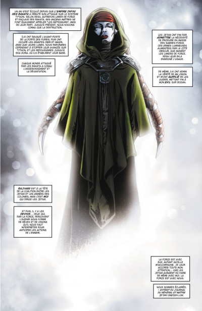Page 1 Star wars - la genèse des Jedi tome 3