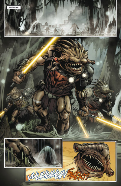 Page 2 Star wars - la genèse des Jedi tome 3