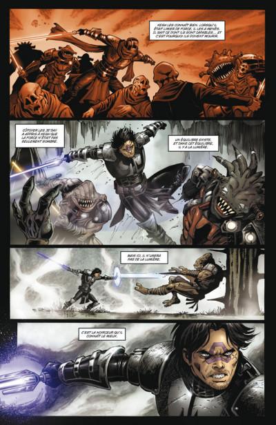 Page 4 Star wars - la genèse des Jedi tome 3