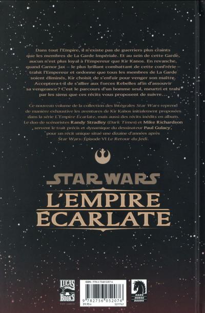 Dos Star Wars - L'Empire écarlate - Intégrale