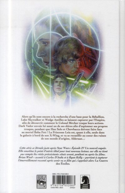 Dos Star Wars  Tome 2 - Haute Trahison
