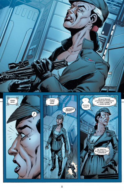 Page 4 Star Wars  Tome 2 - Haute Trahison