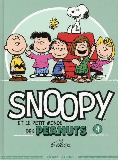 Couverture Snoopy et le petit monde des Peanuts tome 4
