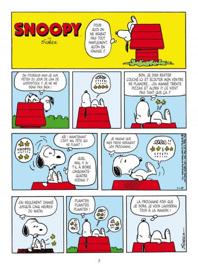Page 1 Snoopy et le petit monde des Peanuts tome 4