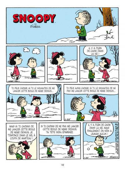Page 4 Snoopy et le petit monde des Peanuts tome 4