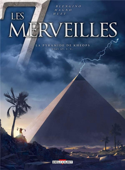 Couverture Les 7 Merveilles tome 5 - La Pyramide de Khéops