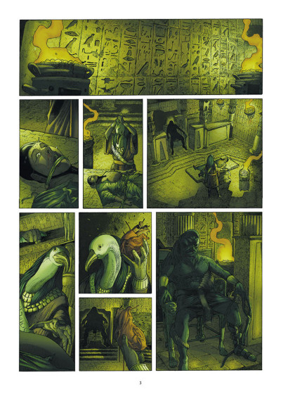 Page 1 Les 7 Merveilles tome 5 - La Pyramide de Khéops