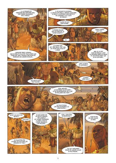 Page 3 Les 7 Merveilles tome 5 - La Pyramide de Khéops