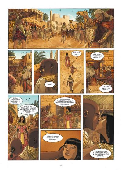 Page 4 Les 7 Merveilles tome 5 - La Pyramide de Khéops