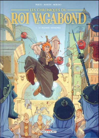 image de Les Chroniques du roi vagabond tome 1 - Le premier mensonge