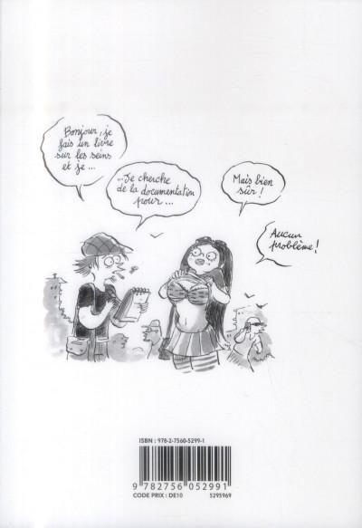 Dos Les Carnets secrets de Guillaume Bianco tome 1 - Les Seins