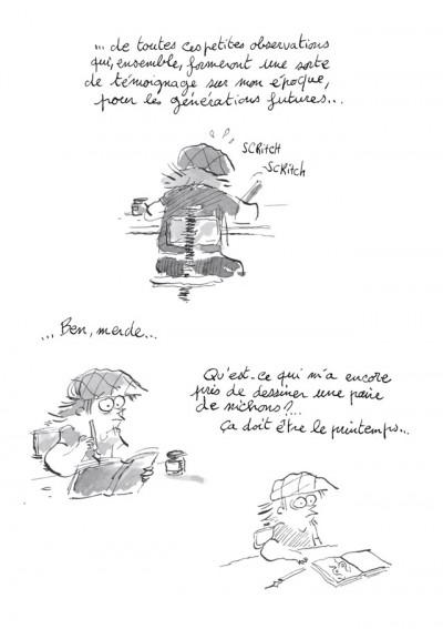Page 3 Les Carnets secrets de Guillaume Bianco tome 1 - Les Seins