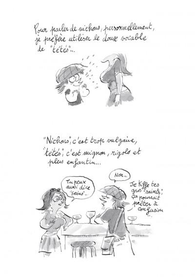 Page 4 Les Carnets secrets de Guillaume Bianco tome 1 - Les Seins