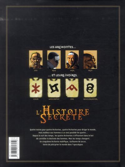 Dos L'Histoire secrète - Intégrale tome 9 à tome 12
