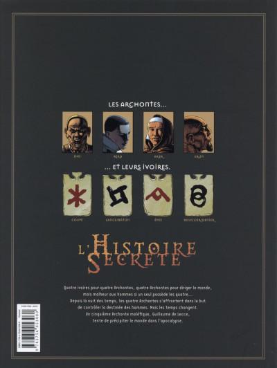 Dos L'Histoire secrète - Intégrale tome 17 à tome 20