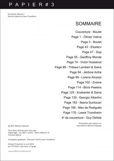Page 2 Papier n°3