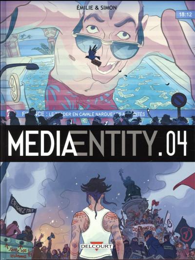 Couverture MediaEntity tome 4