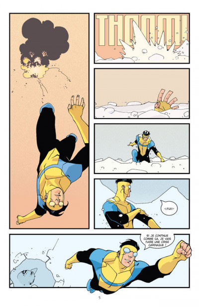 Page 2 invincible tome 1 - affaires de famille
