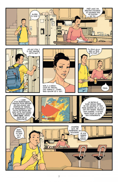Page 4 invincible tome 1 - affaires de famille