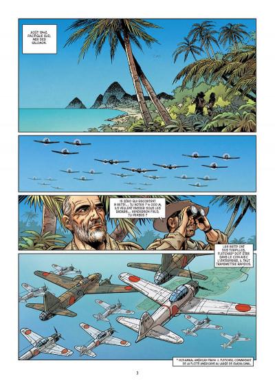Page 1 Lignes de Front tome 7