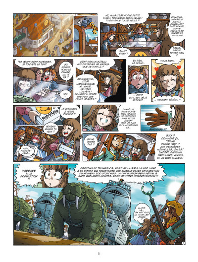 Page 3 Les Légendaires tome 19