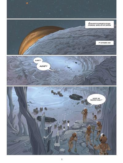 Page 1 Les fantômes de Neptune tome 1