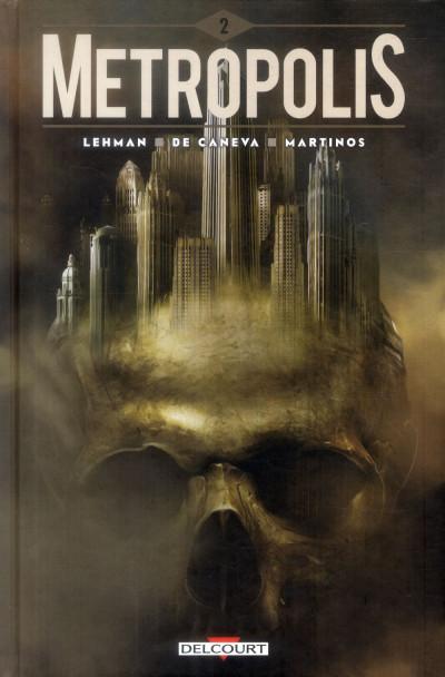 Couverture Metropolis tome 2