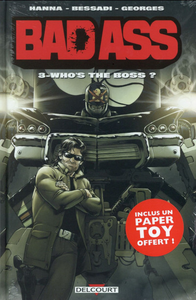 Couverture Bad Ass tome 3 - Who's the Boss ?
