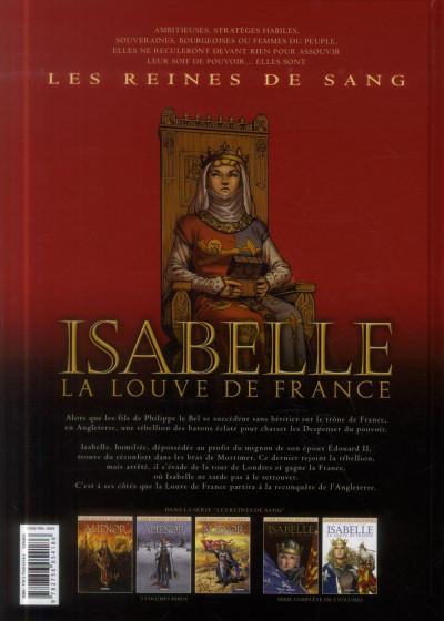 Dos Les reines de sang - Isabelle, la louve de France tome 2