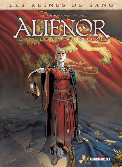 Couverture Les Reines de sang - Aliénor, la légende noire tome 4