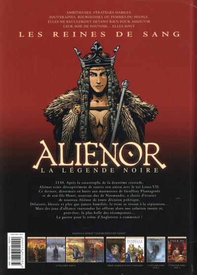 Dos Les Reines de sang - Aliénor, la légende noire tome 4