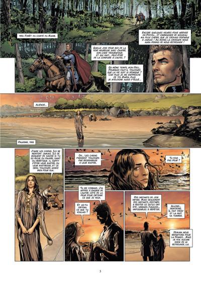 Page 1 Les Reines de sang - Aliénor, la légende noire tome 4