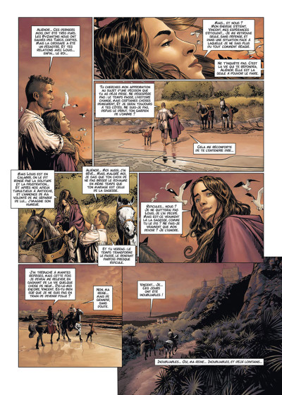 Page 2 Les Reines de sang - Aliénor, la légende noire tome 4