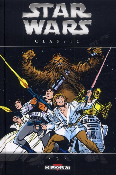 Couverture Star Wars classic tome 2