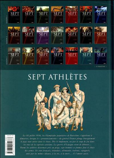 Dos 7 athlètes