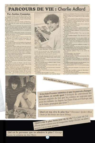 Page 4 Charlie Adlard - Art book