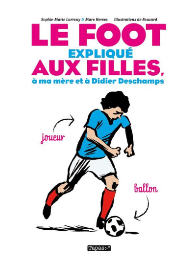 Couverture Le Foot expliqué aux filles, à ma mère et à Didier Deschamps