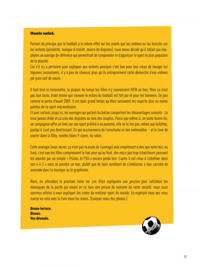 Page 1 Le Foot expliqué aux filles, à ma mère et à Didier Deschamps