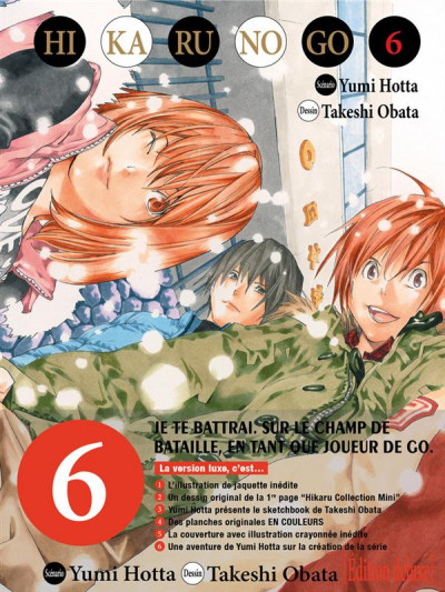 Couverture Hikaru no go tome 6 - édition deluxe