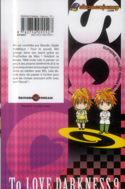 Dos to love - darkness tome 9